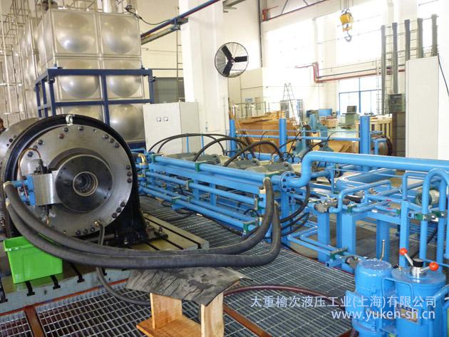 太重榆液上海公司成功研发708所马达试验台